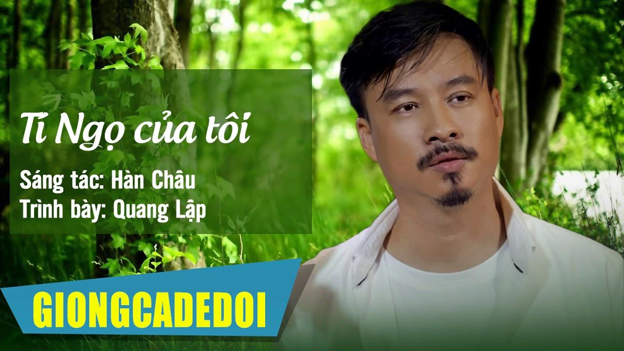 Tí Ngọ Của Tôi – Quang Lập | Nhạc Lính Hải Ngoại