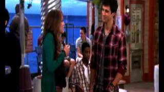 Hannah Montana Forever Miley falls in love with Jessie (funny)