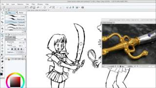 Outer Sailor Senshi Collab With Verliet427 [part 1]