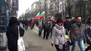 ブルガリア 反政府デモ