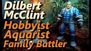 Dilbert McClint Hobbyist Aquarist Family Battler