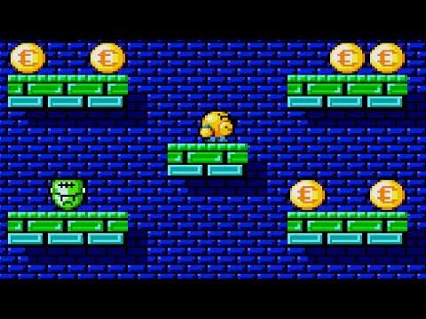 [Full Gameplay] Uwol Quest for Money (Homebrew) [Sega Megadrive/Genesis]