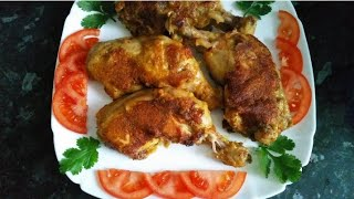 Healthy fry chicken, quick and easy recipe by Delicious food recipes