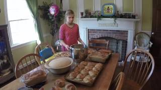 Bake Bread for 20+ Families All in One Day? See how we did it!