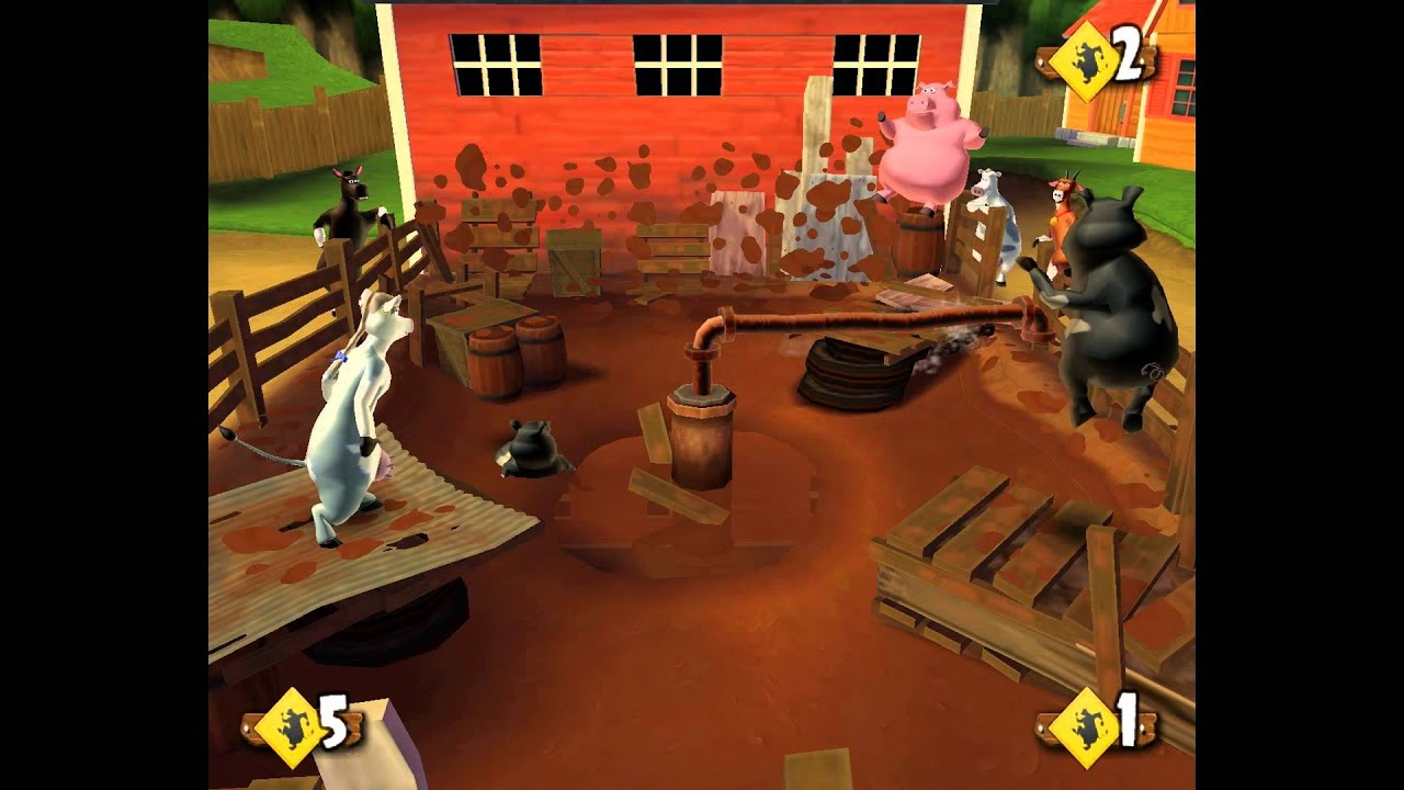 Welcome to the yard where the vibrant world of nickelodeon's barnyard movie will come to life. Gamers of all ages will be entertained by this brand new.
