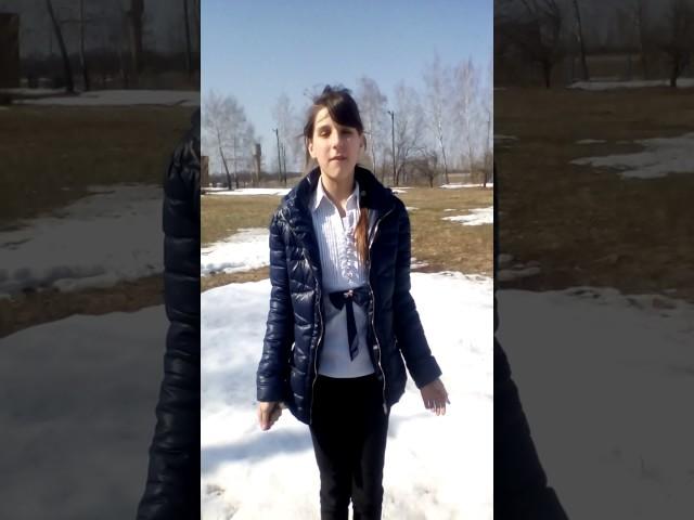 Изображение предпросмотра прочтения – АннаКретова читает произведение «Весенние воды (Еще вполях белеет снег…)» Ф.И.Тютчева