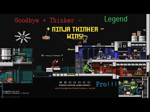 Superfighters Deluxe - Goodbye Thinker!!!   (Sad Video)