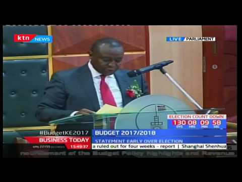 Kenyan Budget 2017/2018 - New process of acquiring tenders from government offices
