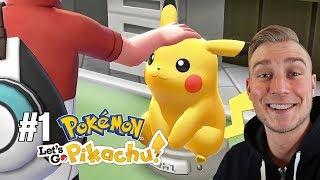 Wybieram Cię! (Pokemon Let's GO Pikachu ! odc. #1)