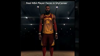 NBA2K15 - How to get Real NBA Player Faces in MyCareer