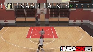 NBA 2K16- 1v1 AGAINST THE BIGGEST TRASH TALKER! EXPOSED! 3 POINTERS ONLY!