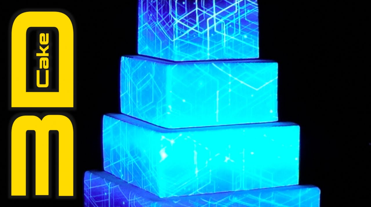 Cake Projection Mapping Australia