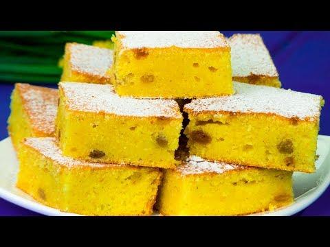 Avete mai assaggiato la torta di farina di mais? È deliziosa! | Saporito.TV