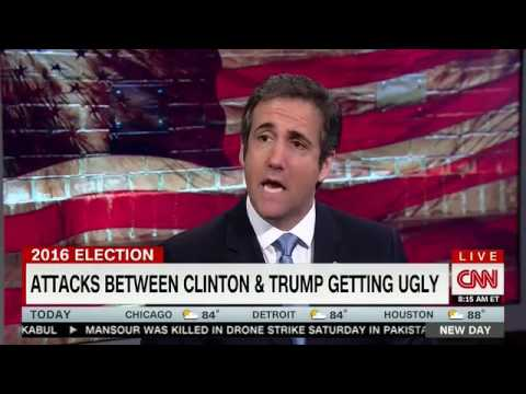 Chris Cuomo grills Michael Cohen about Trump's 'hypocrisy' on Clinton's marriage