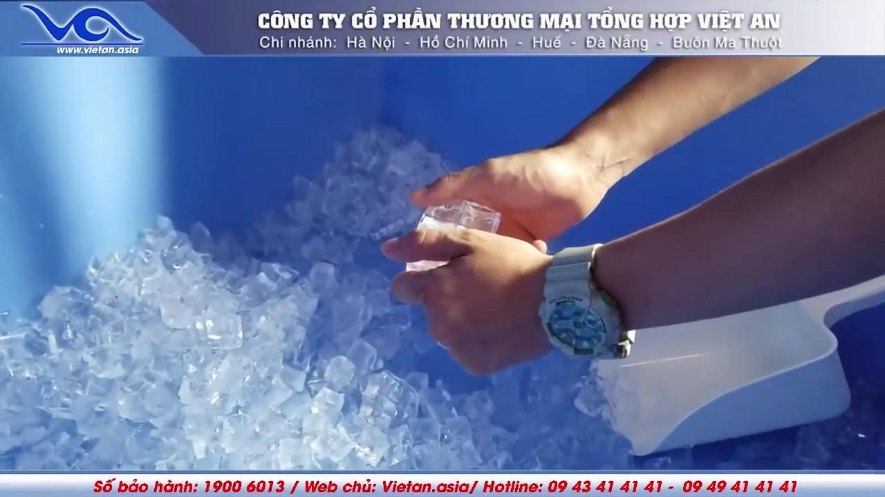 [Việt An] Video Máy làm đá sạch VA-850 công suất 400kg / ngày