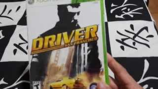 Unboxing Driver San Francisco - xbox 360
