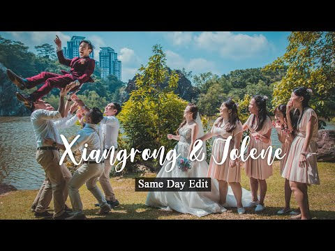 Singapore Wedding Videography - Xiangrong and Jolene Same Day Edit