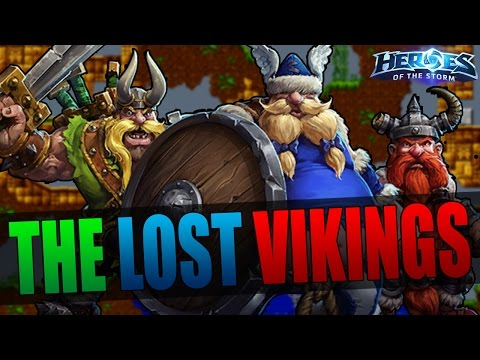 The Lost Vikings - Comprehensive Guide! // Heroes of the Storm