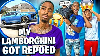 JAY FINALLY CAME BACK & MY LAMBORGHINI GOT REPOED!💔