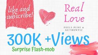 Surprise Flash Mob : THE PROPOSAL || ANU+AKASH || Cinepolis ||  Beats Studio || Lucknow