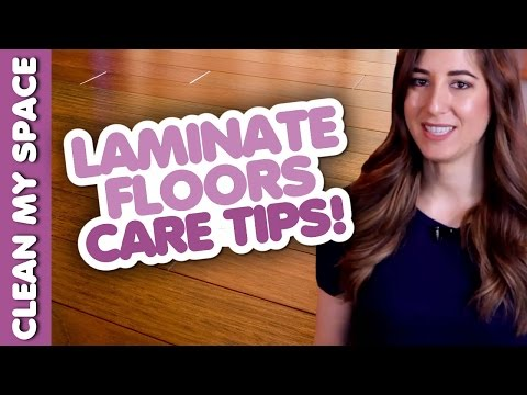 Laminate Floor Cleaning & Care Tips! (Clean My Space)