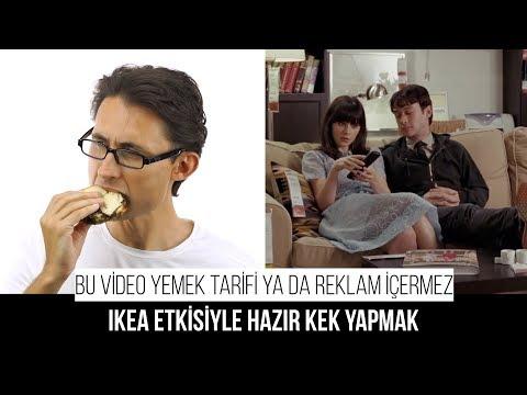IKEA Etkisiyle Hazır Kek Yapmak  (Bu Video Yemek Tarifi Ya Da Reklam Içermez)