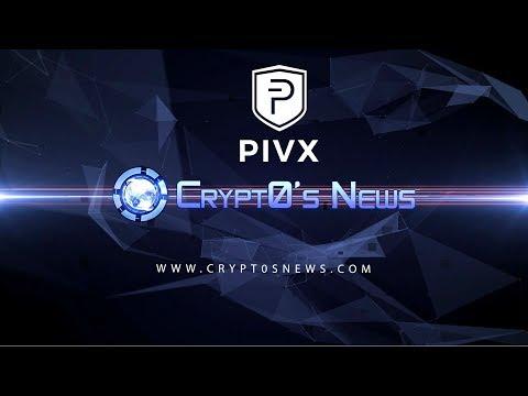 Crypt0 News PIVX interview live from BTC Miami 2018