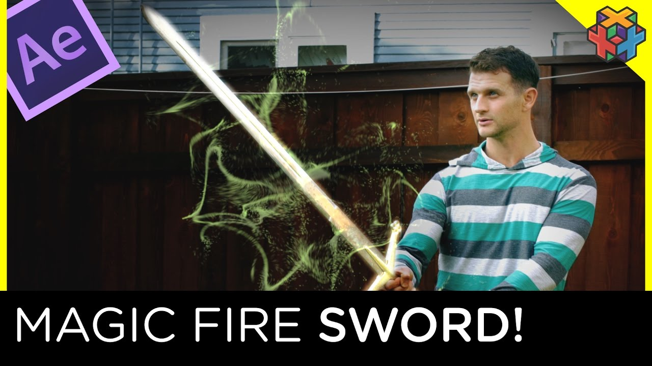 Magic Fire Sword Tutorial – Adobe After Effects   ADOBE Lessons