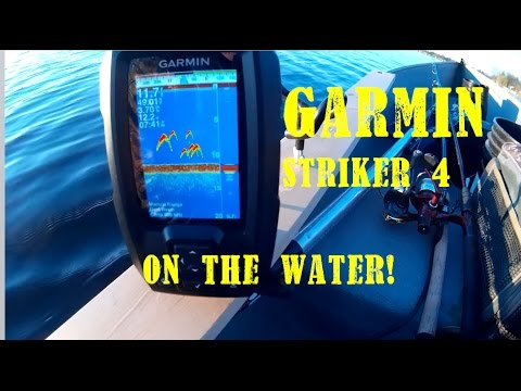 Garmin Striker 4 ON THE WATER REVIEW!