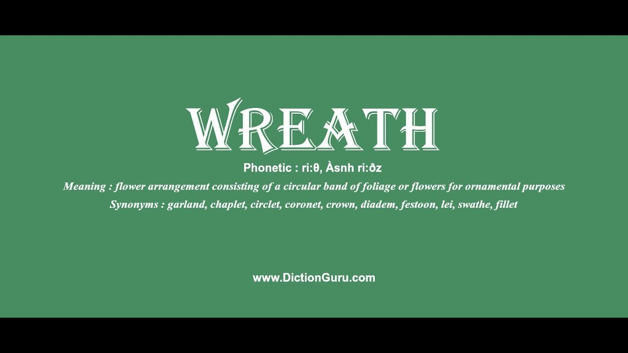 wreath: How to pronounce wreath with Phonetic and Examples