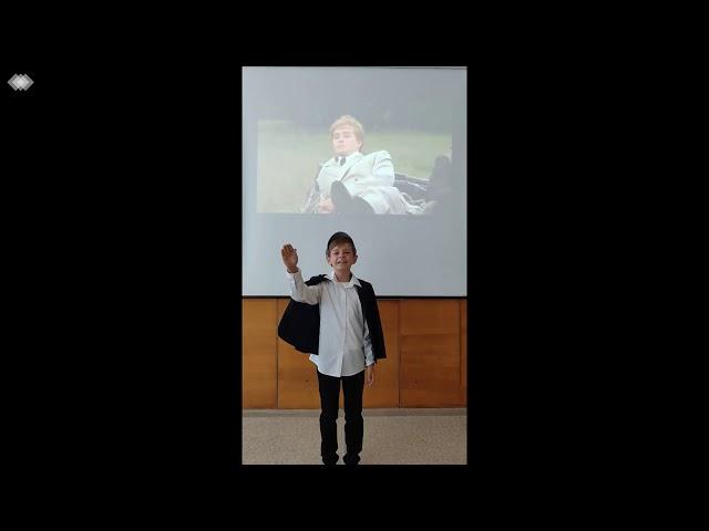 Изображение предпросмотра прочтения – АнтонКостенко читает произведение «Я иду долиной. На затылке кепи…» С.А.Есенина