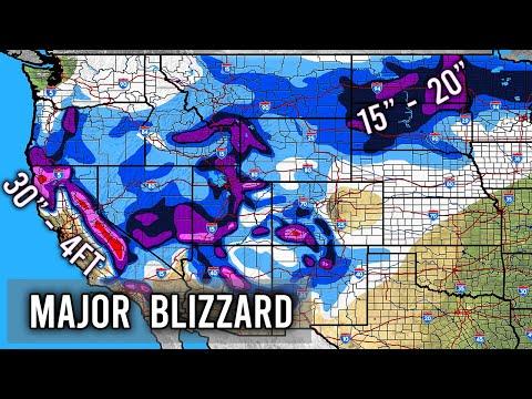 Major Blizzard Ezekiel Forecast