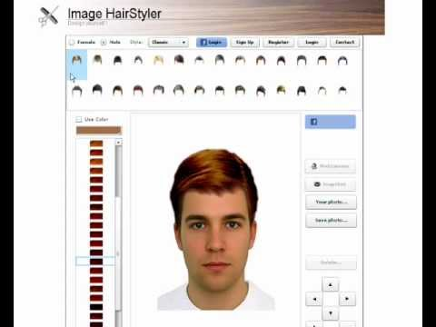 virtual haircut simulator imagehairstyler hairstyles 6196 | hqdefault