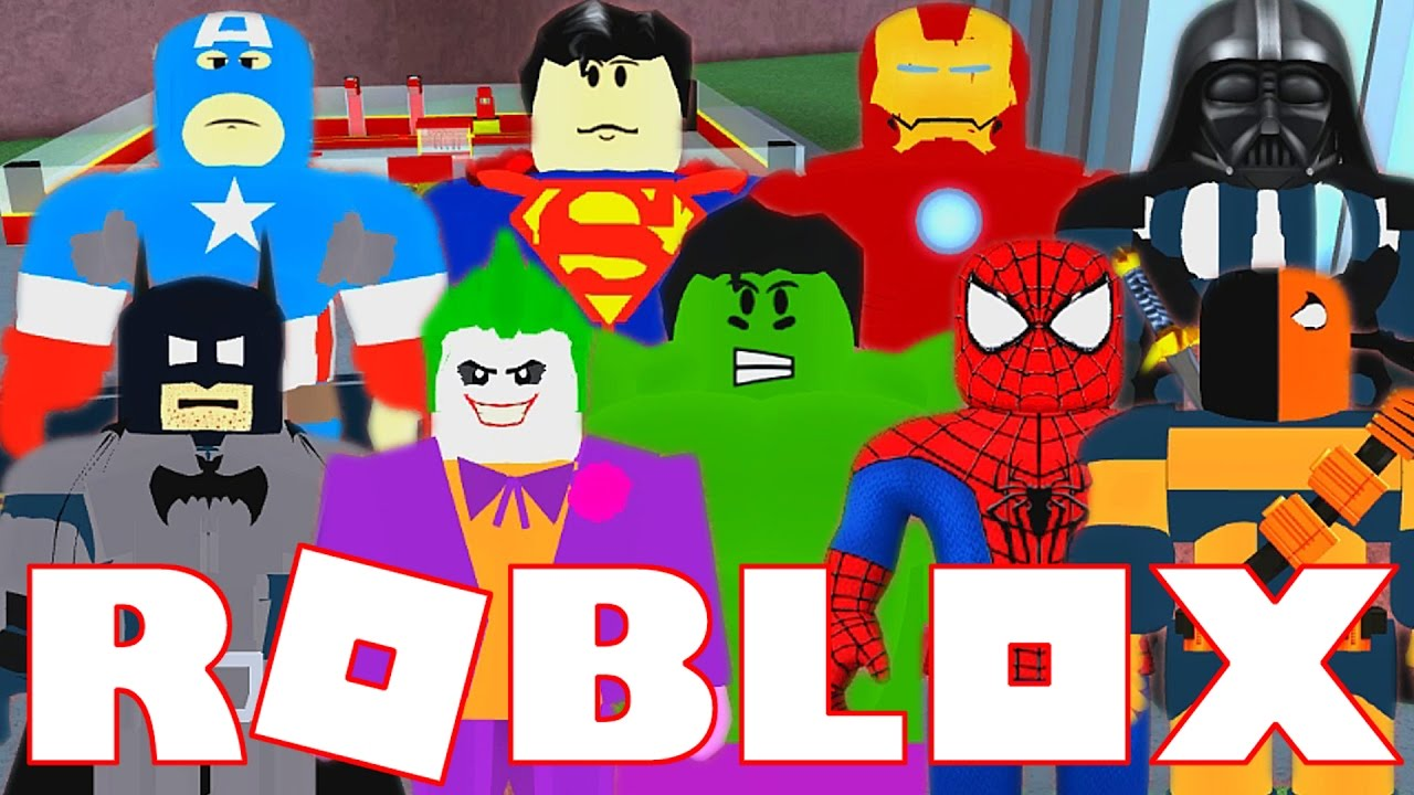 we are superheroes in roblox