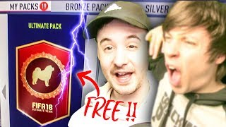 AMAZING FIFA 18 NEW YEAR PACK OPENING GIFTS FROM EA!!!