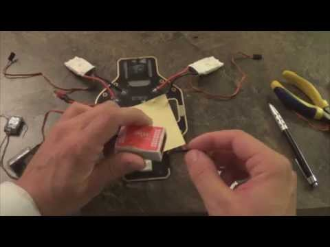 How to Wire DJI Naza-M 1/2 & Lite(With Spektrum Receiver)