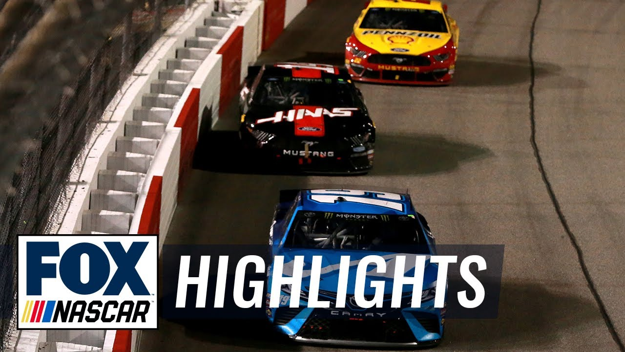 How Martin Truex Jr. held off Clint Bowyer & Joey Logano for Richmond win | NASCAR on FOX HIGHLIGHTS