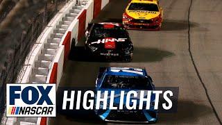 How Martin Truex Jr. held off Clint Bowyer & Joey Logano for Richmond win | NASCAR on FOX HIGHLIGHTS