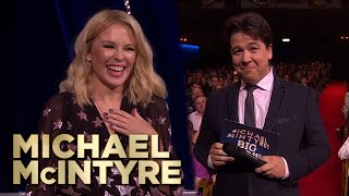 Kylie-Oke! Kylie Minogue Duets With Karaoke Singers on the Big Show | Michael McIntyre