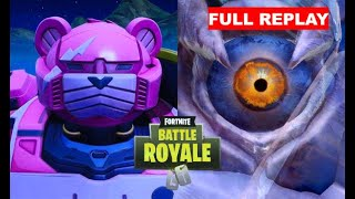 FORTNITE ICE MONSTER vs MECCA EVENT FULL REPLAY!! FREE TO USE!