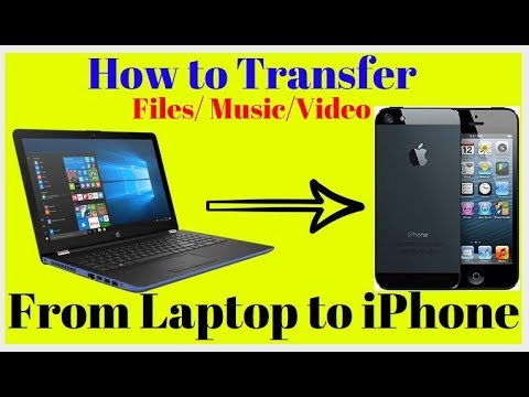 How To Transfer Music From  Laptop To IPhone # Phone Drive App -2017