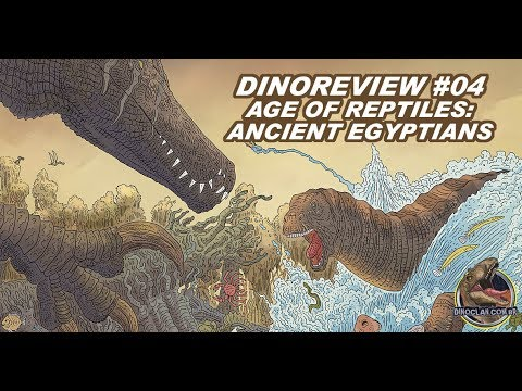 DINOREVIEW #04 : AGE OF REPTILES - ANCIENT EGYPTIANS COMIC BOOK