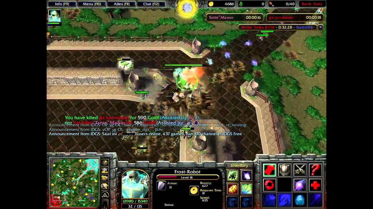 Battle Tanks Warcraft 3 wc3 Indonesia Server Free Indogamers BNet #1
