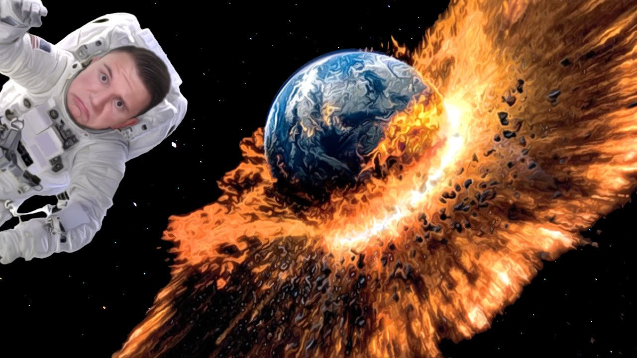 BLOWING UP EARTH!!!   Universe Sandbox #1 - YouTube