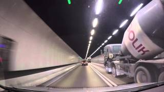 大欖隧道北行 Tai Lam Tunnel North Bound