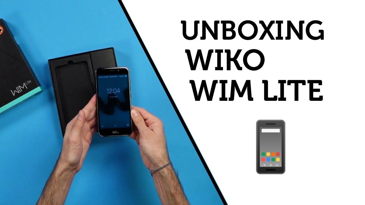 wiko wim lite carte sim Unboxing/déballage : Wiko Wim Lite   YouTube