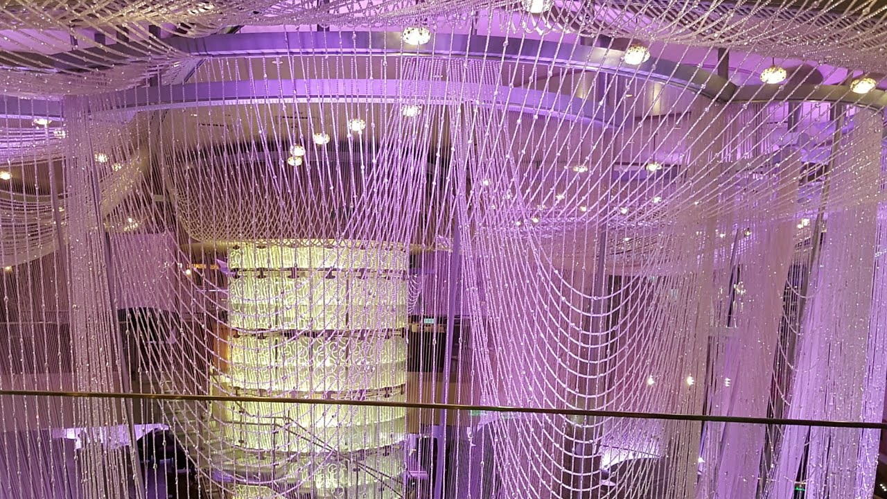 Las vegas vlog walk thru chandelier bar at cosmopolitan hotel youtube youtube premium aloadofball Gallery