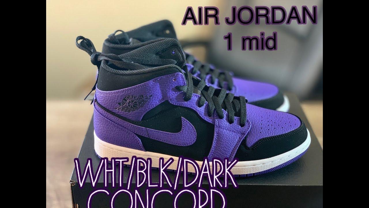jordan 1 black dark concord