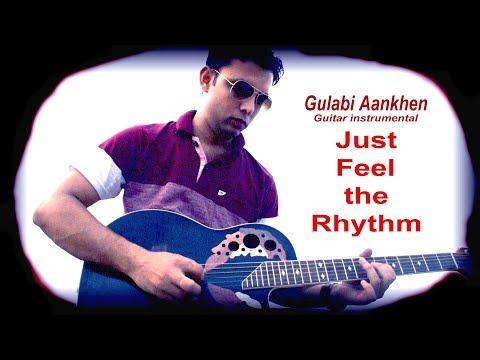 Gulabi Aankhen Guitar Instrumental Cover - The Train -  Rajesh Khanna - Nanda