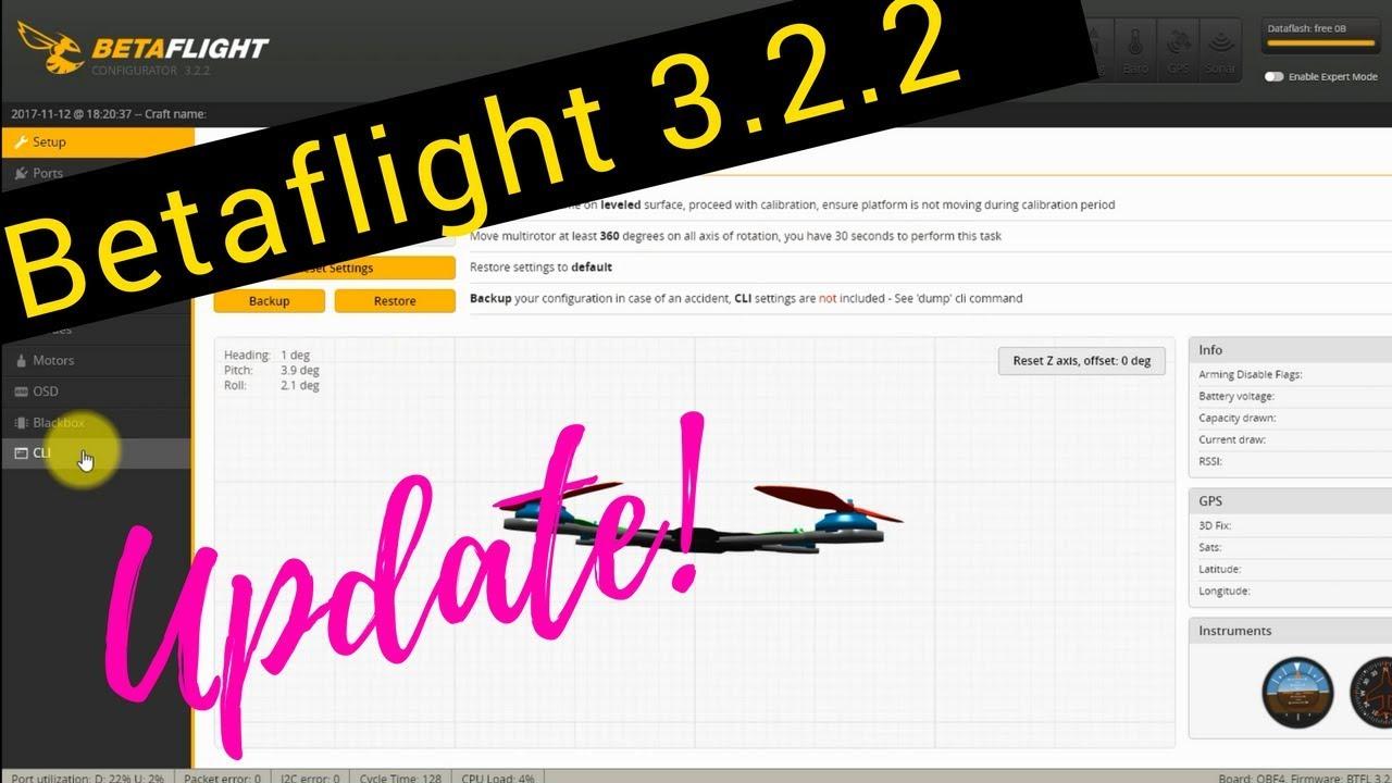 betaflight 3.2
